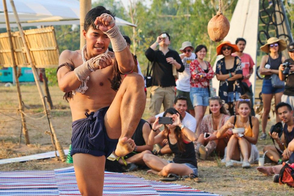 Buakaw Boxing at Wonderfruit