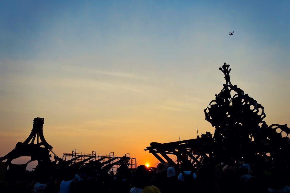 Wonderfruit Sunset Closing Ceremony Parade