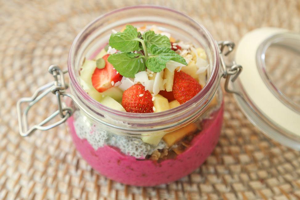 Food at Bali Chillhouse