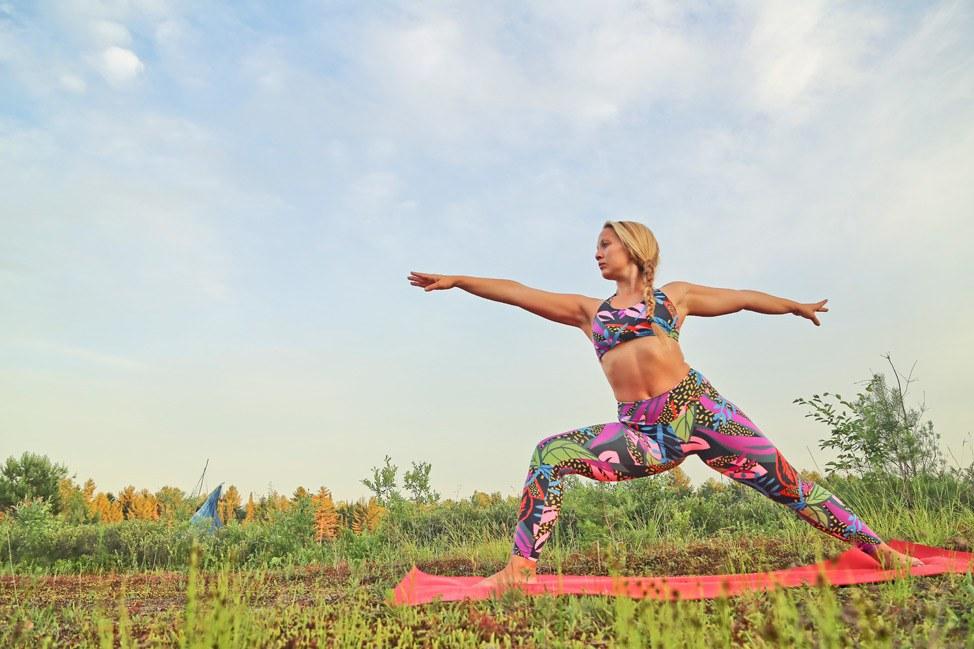 Yoga at Liberty Festival 2016 Port Leyden New York