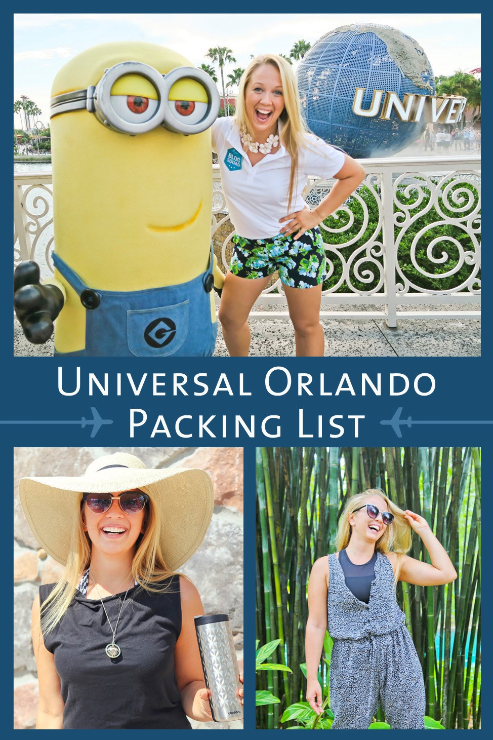 Packing List for Universal Orlando