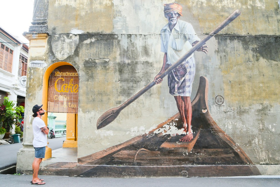 Penang Street Art Travel Blog