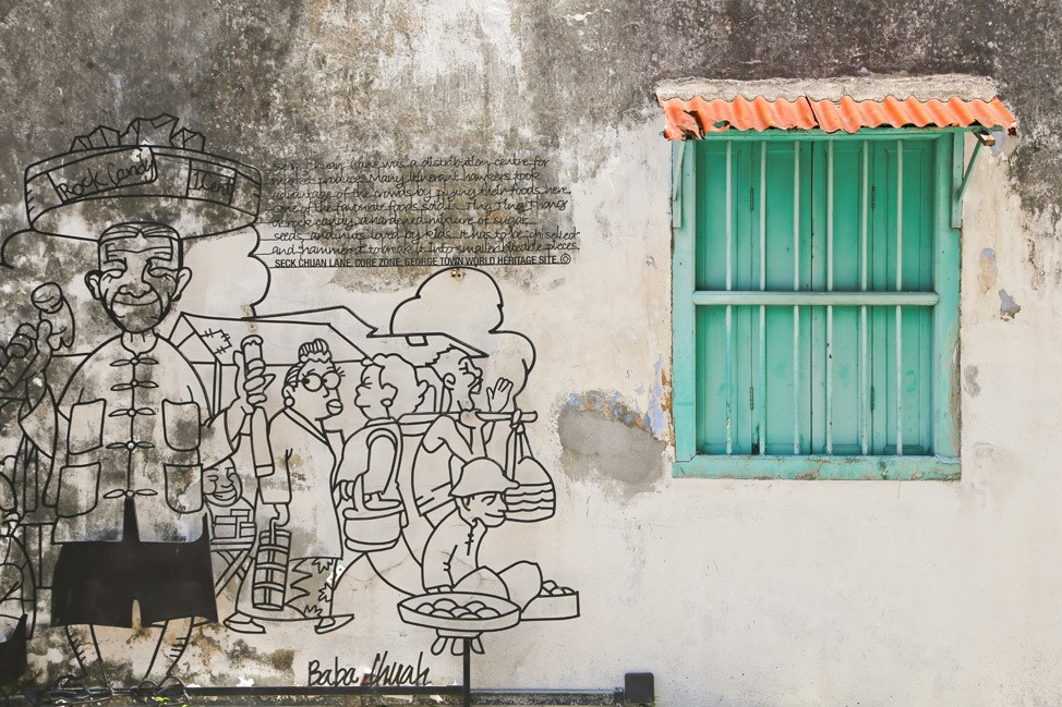 Penang Street Art Travel Blog Post