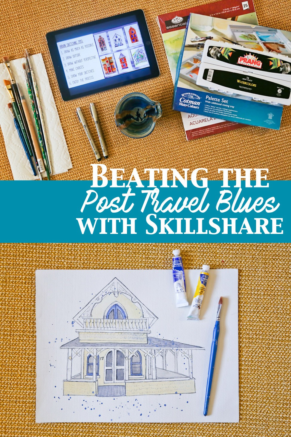 Skillshare for Travel Addicts