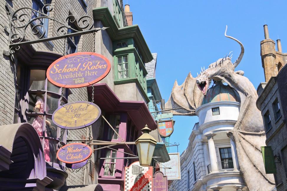 Diagon Alley in Universal Orlando Resort
