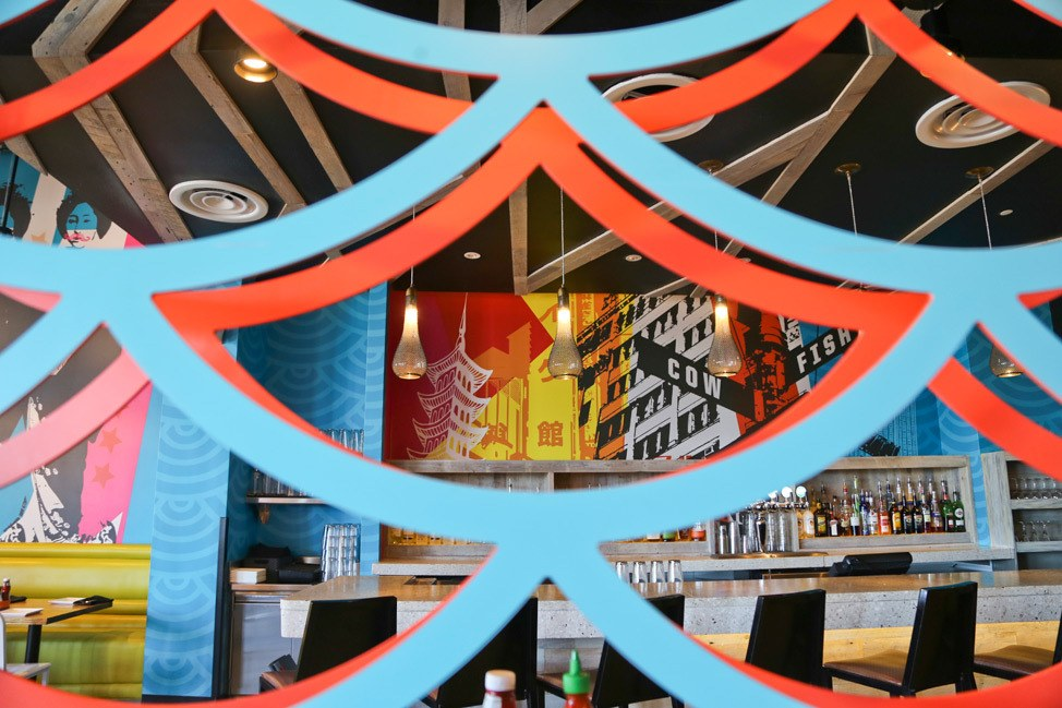 The Cowfish Sushi Burger Bar • CityWalk Orlando