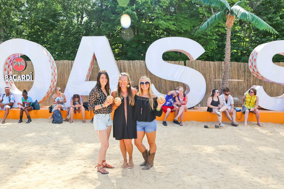 Oasis by Bacardi at Bonnaroo 2017