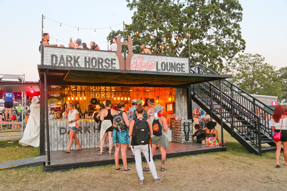 Dark Horse Rose Lounge at Bonnaroo 2017