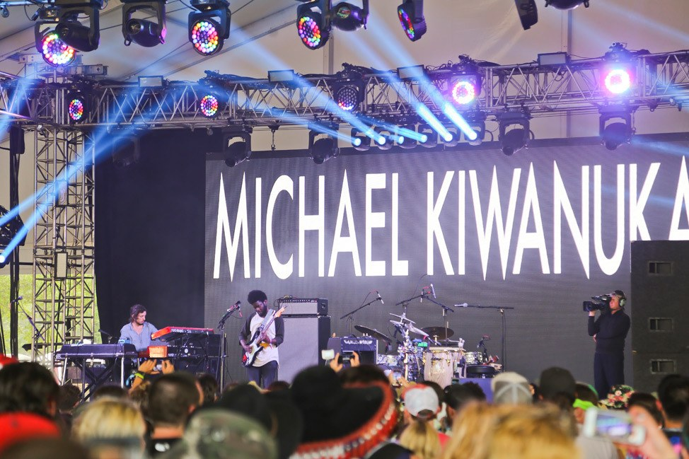 Michael Kiwanuka at Bonnaroo