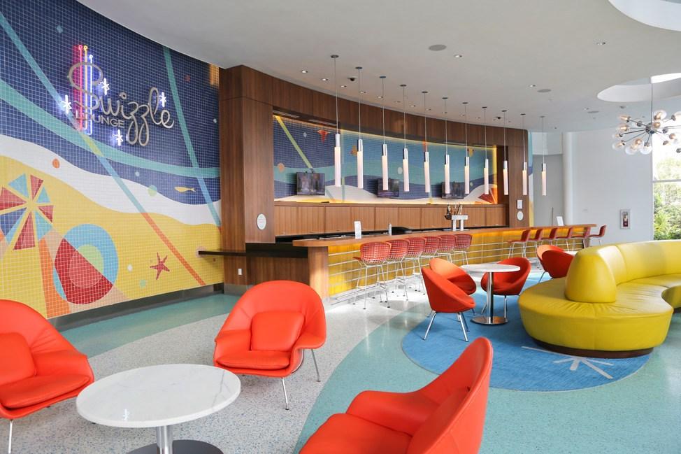 Swizzle Lounge at Cabana Bay Beach Resort • Universal Orlando Hotel Review