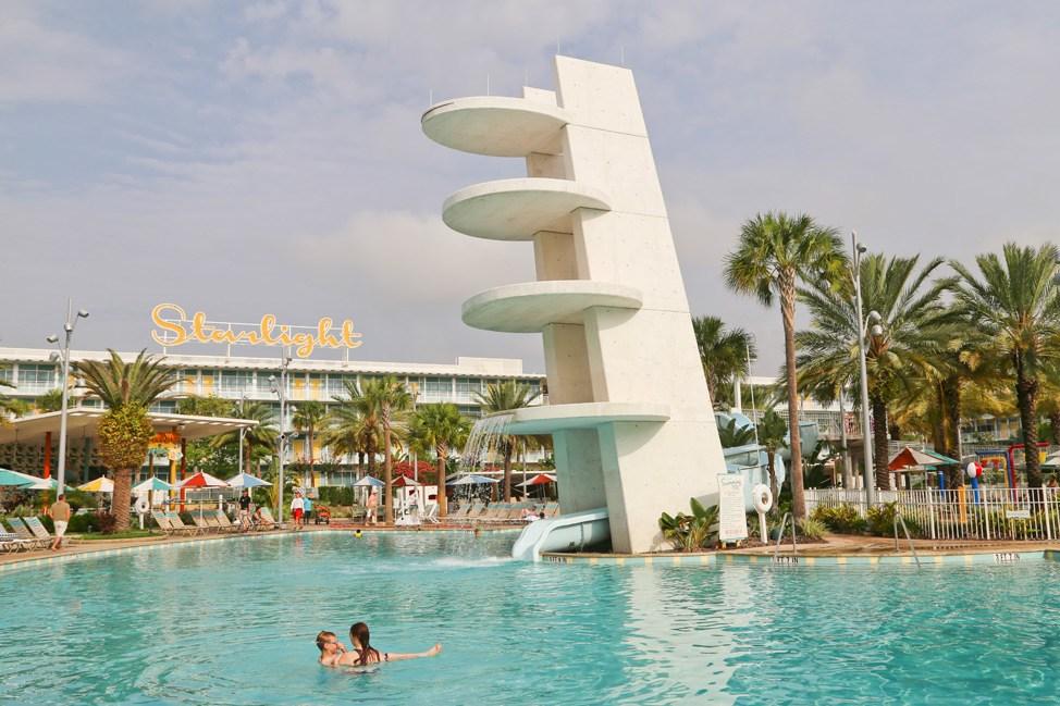 Pool at Cabana Bay Beach Resort • Universal Orlando Hotel Review