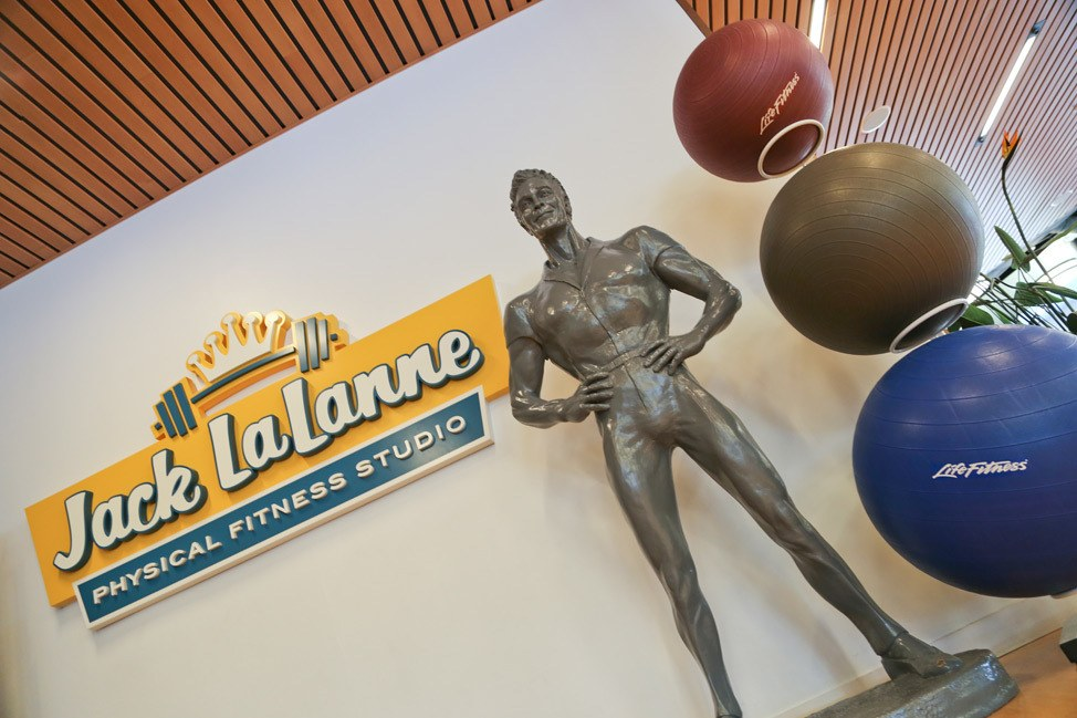 Lack LaLanne Fitness Center at Cabana Bay Beach Resort • Universal Orlando Hotel Review