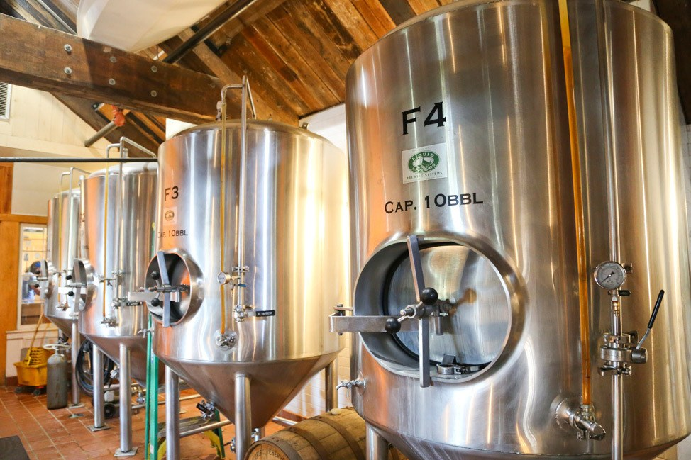 Offshore Ale Company Brewery Tour Martha's Vineyard