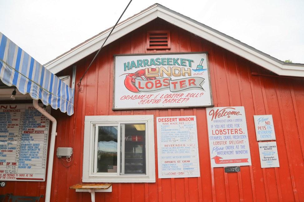 Harraseeket Lobster, South Freeport, Maine