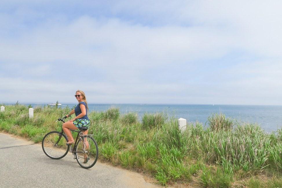 Bicycling in Martha's Vineyard