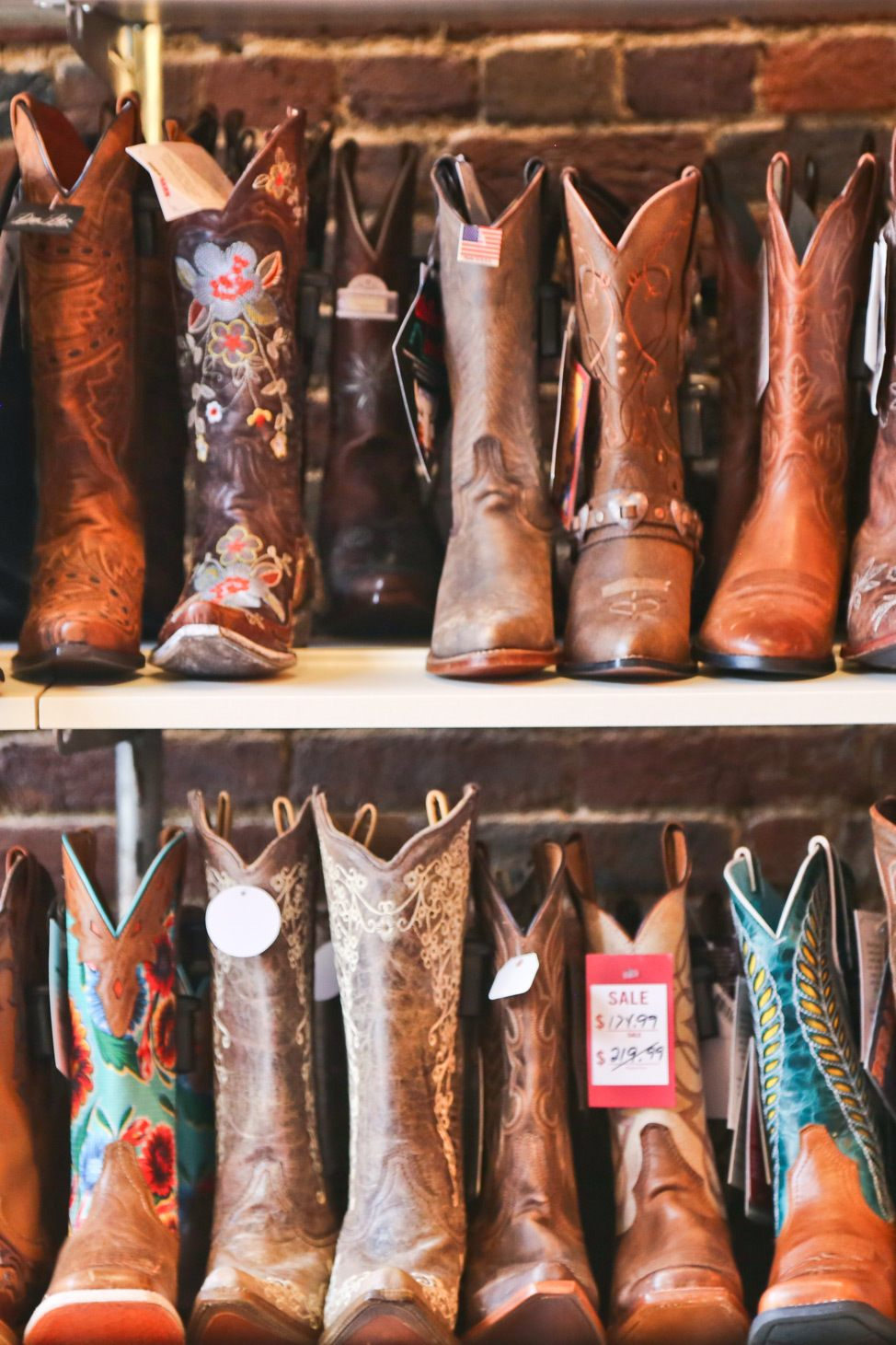 Cowgirl Boots in Nashville