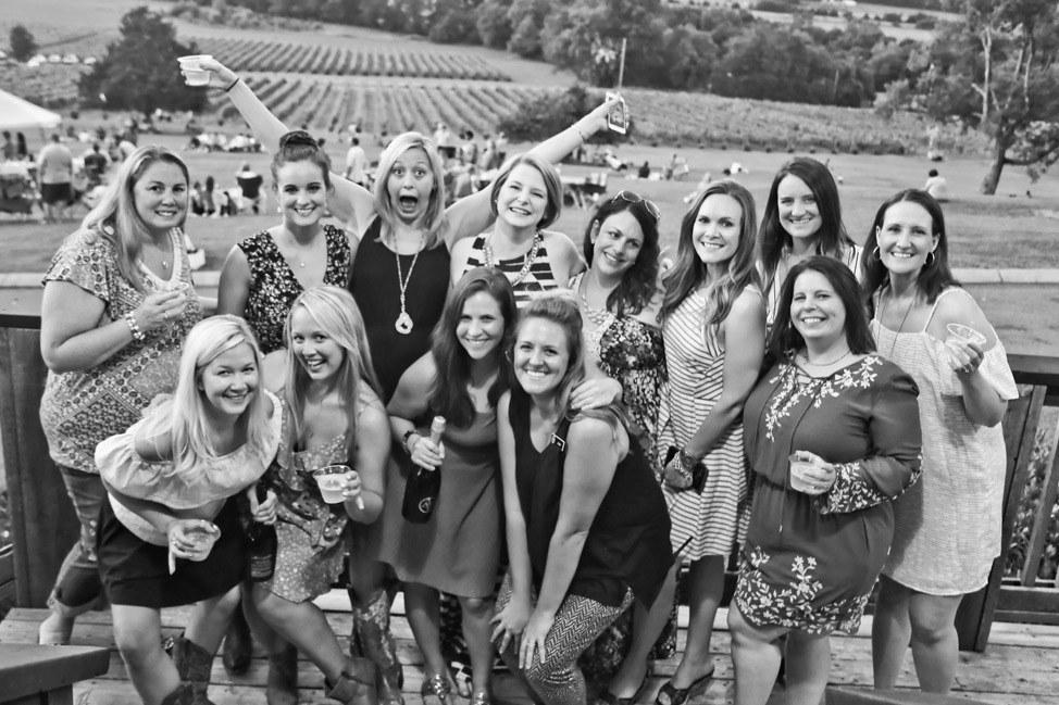 Arrington Vineyards Bachelorette Party Premier Experience