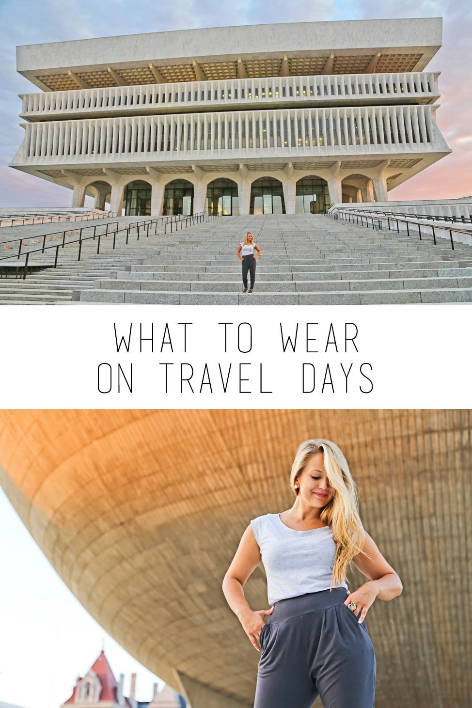 What to Wear on Travel Days