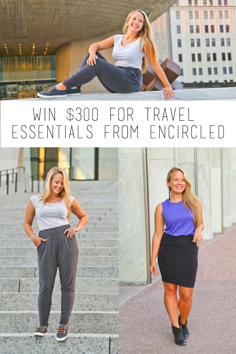 Win $300 for Travel Essentials From Encircled