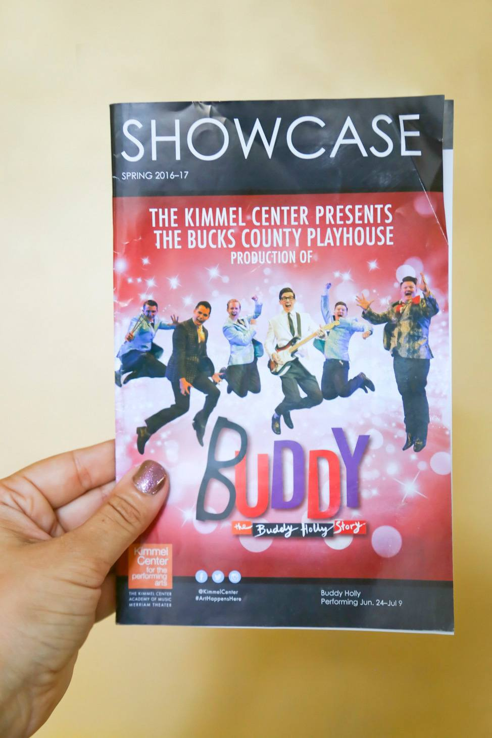 Buddy: The Buddy Holly Story at Kimmel Center Philadelphia