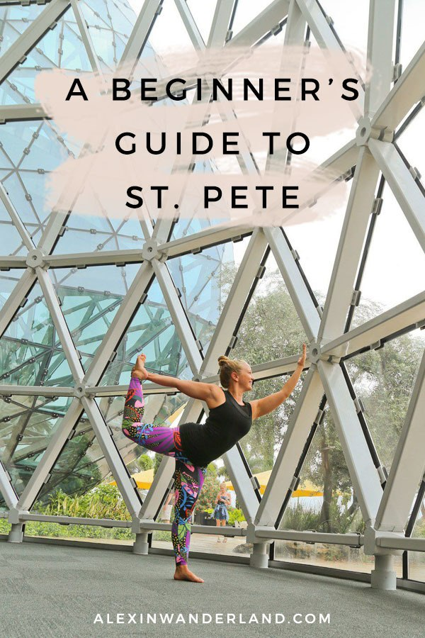 A beginner's St. Pete travel guide! | st pete travel, st pete florida, st pete fl, st pete travel tips