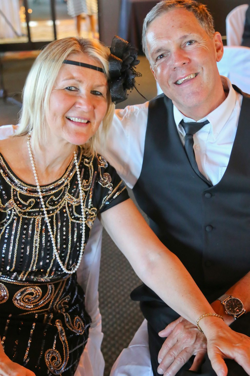Wedding Reception at The Beach House, Decatur, Illinois