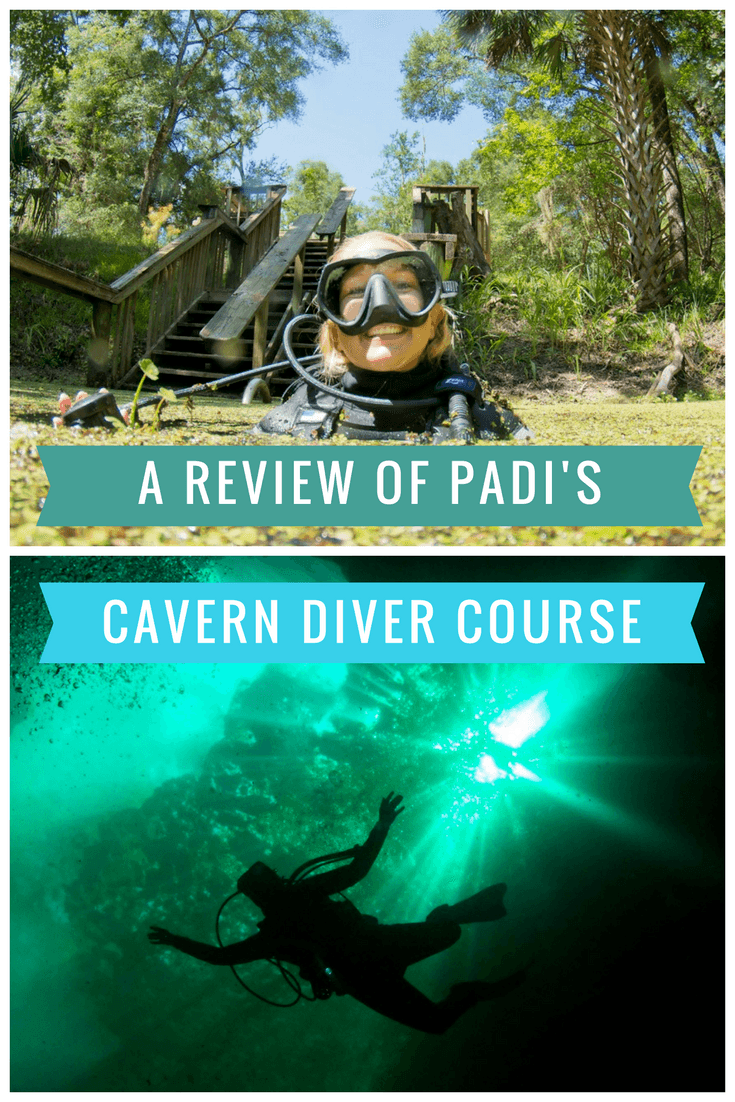 A Review of Padi's Cavern Diver Course