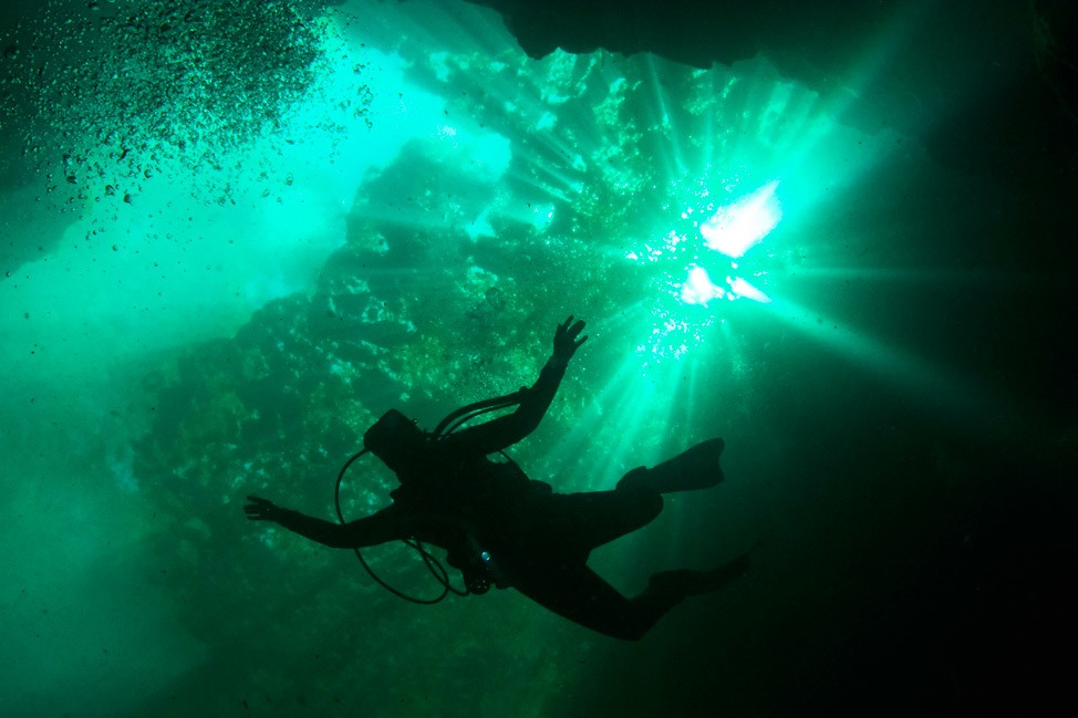 Cavern Diver Course at Catfish Hotel, Manatee Springs State Park