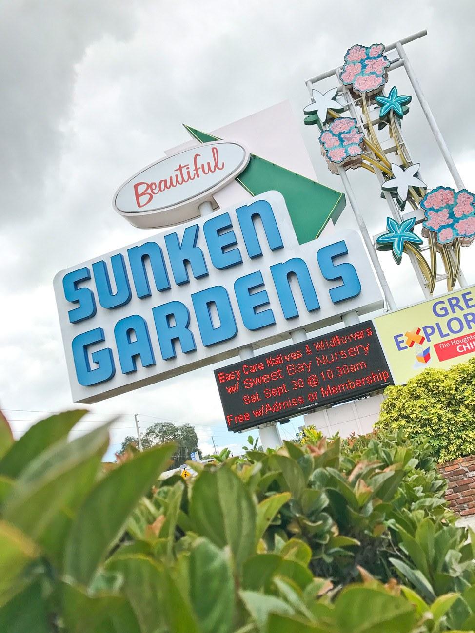 Sunken Gardens, St. Pete, Florida