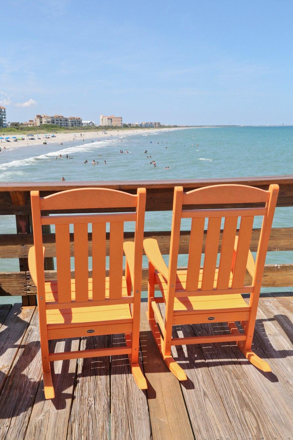 Cocoa Beach Pier, Space Coast, Florida