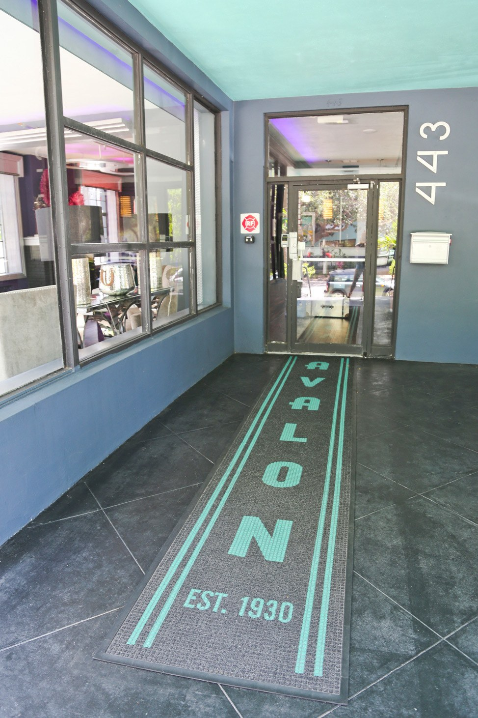 The Avalon Hotel St. Pete Porch