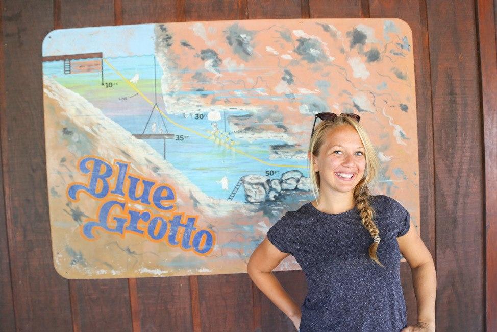 Diving Blue Grotto, Williston, Florida