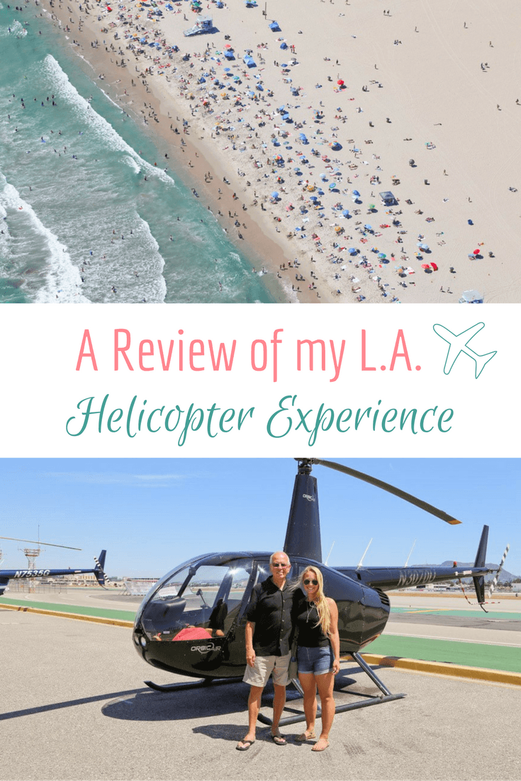 Helicopter Ride Over L.A.