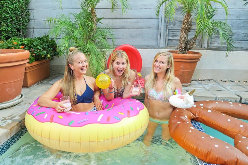 Los Angeles Pool Party Birthday