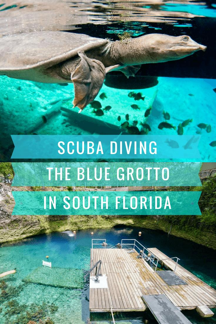 Scuba Diving Florida's Blue Grotto