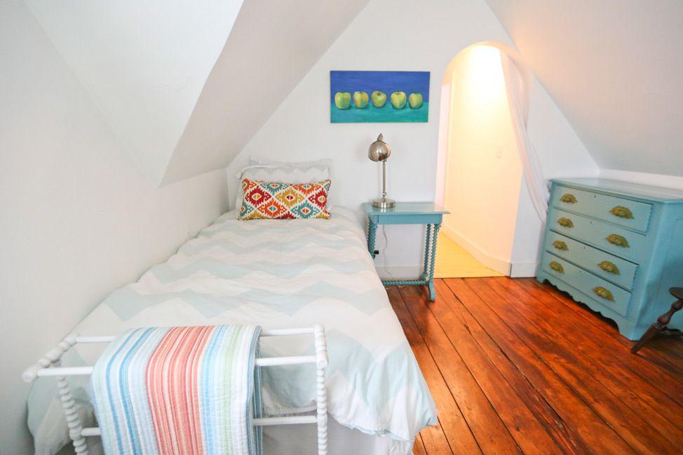 Martha's Vineyard Campmeeting Association Gingerbread Cottages Bedroom