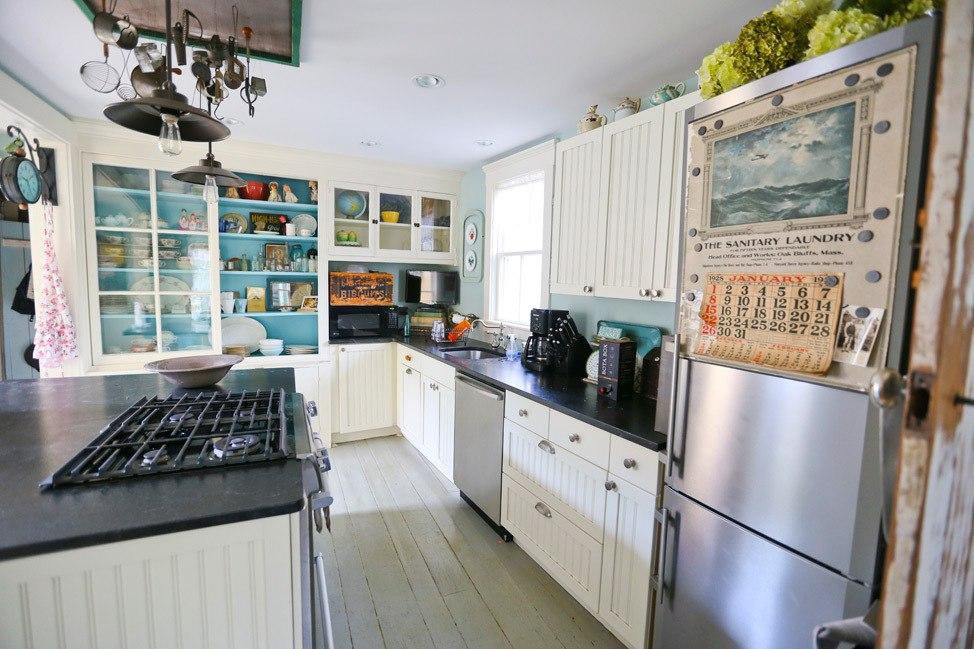 Martha's Vineyard Campmeeting Association Gingerbread Cottages Kitchen