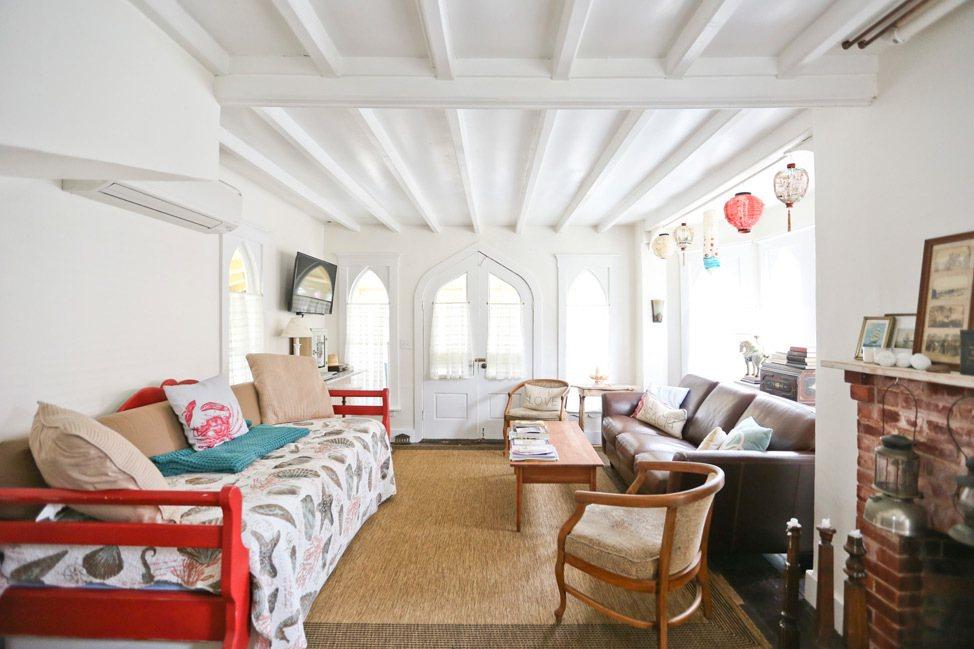 Martha's Vineyard Campmeeting Association Gingerbread Cottages Living Room
