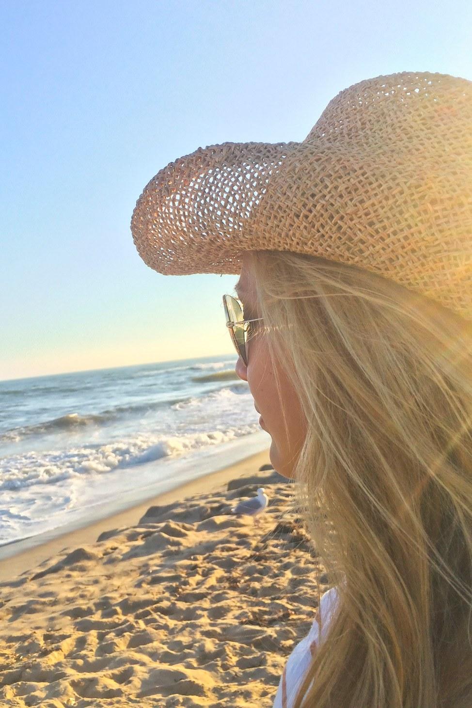 On the Beach in Martha's Vineyard