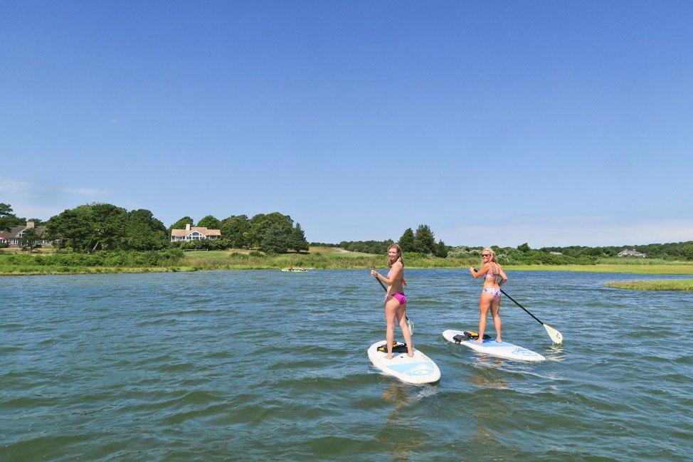 Stand Up Paddleboarding Martha's Vineyard