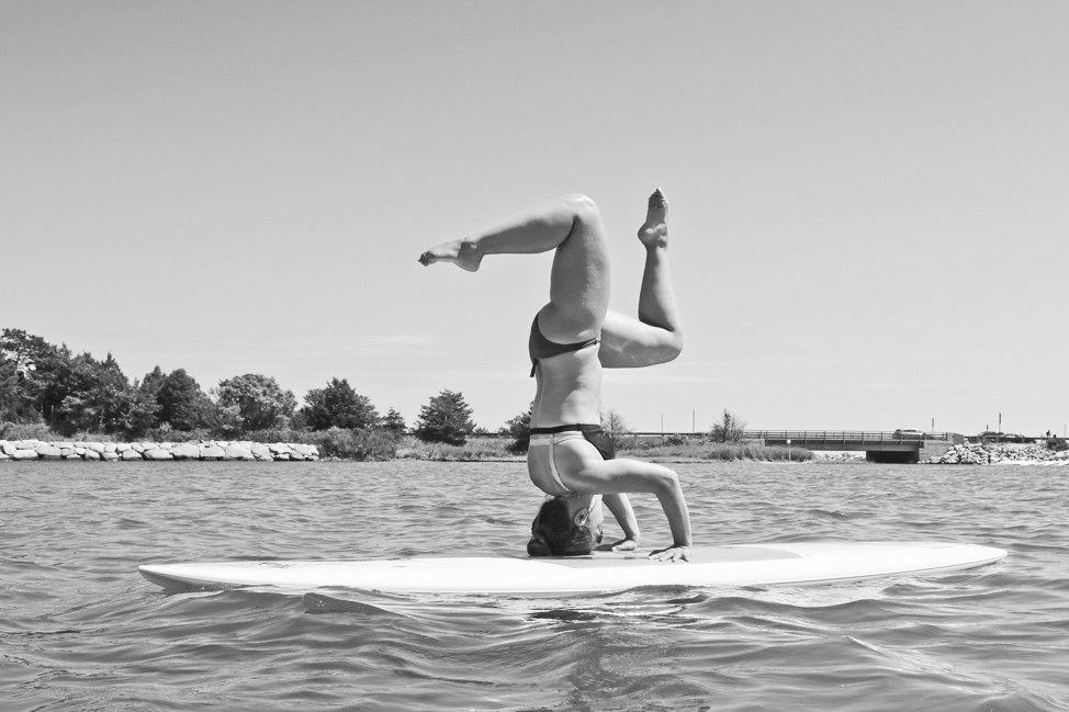 Stand Up Paddleboard Yoga Martha's Vineyard