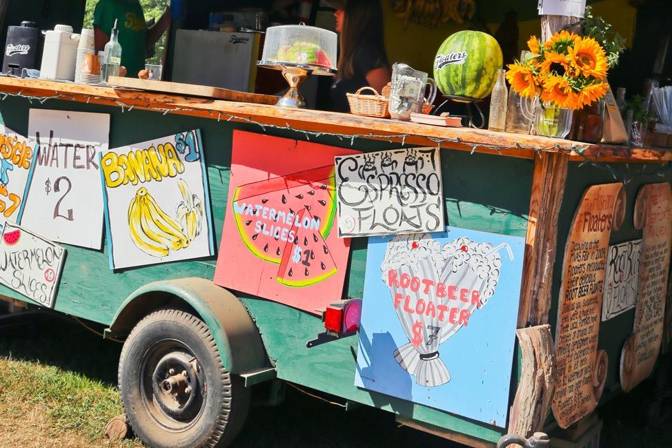 Food Trucks at The Martha's Vineyard Agricultural Society Ag Fair