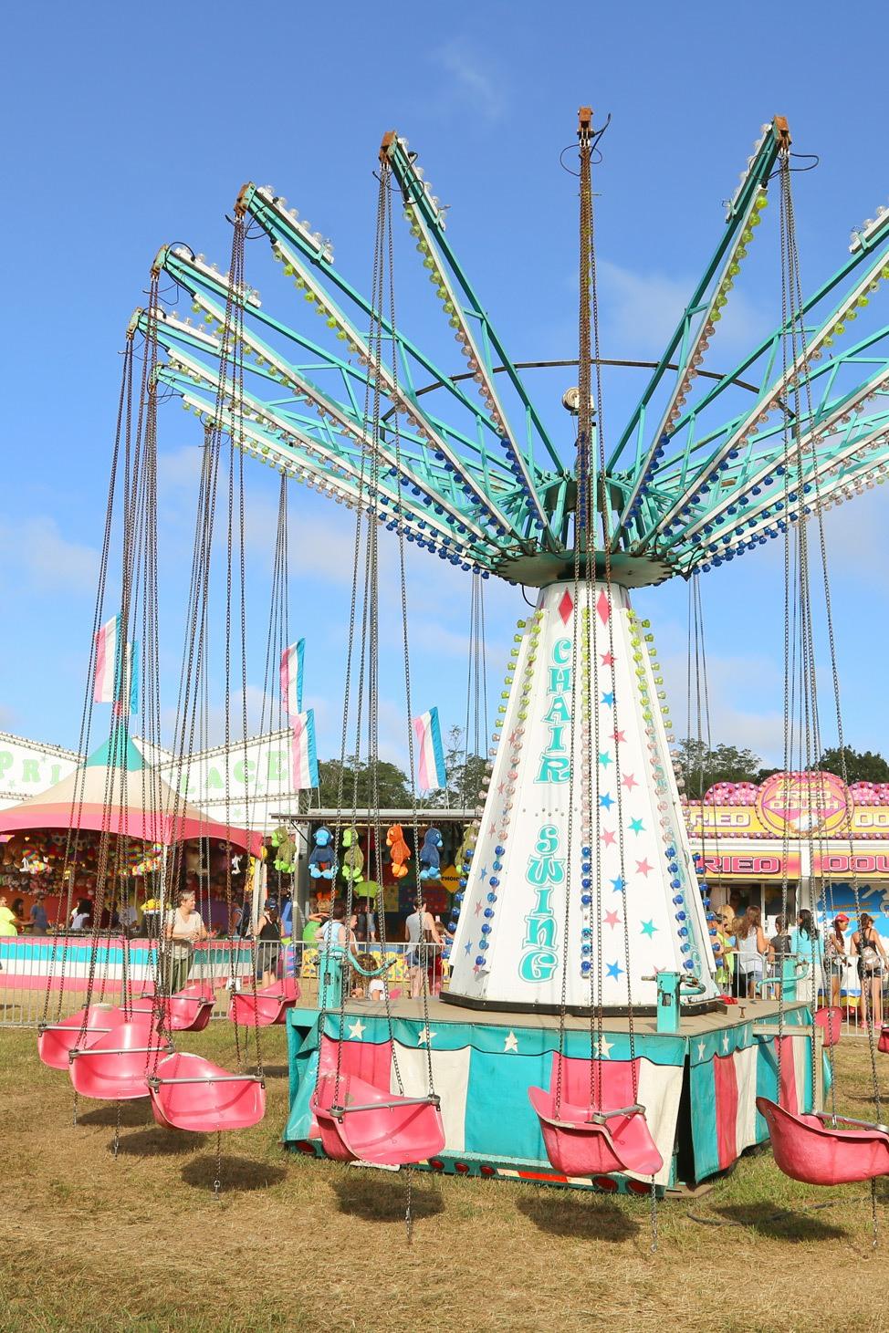 Carnival Rides at The Martha's Vineyard Agricultural Society Ag Fair