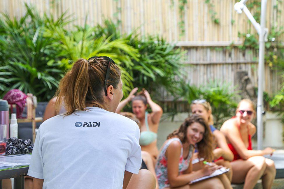PADI Enriched Air Diving, Wander Women Retreats, Koh Tao, Thailand