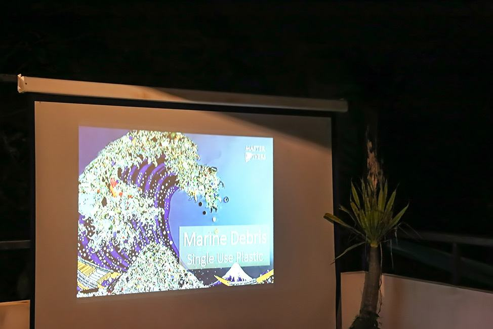 Conservation Presentation by Master Divers at Wander Women Retreats, Koh Tao, Thailand
