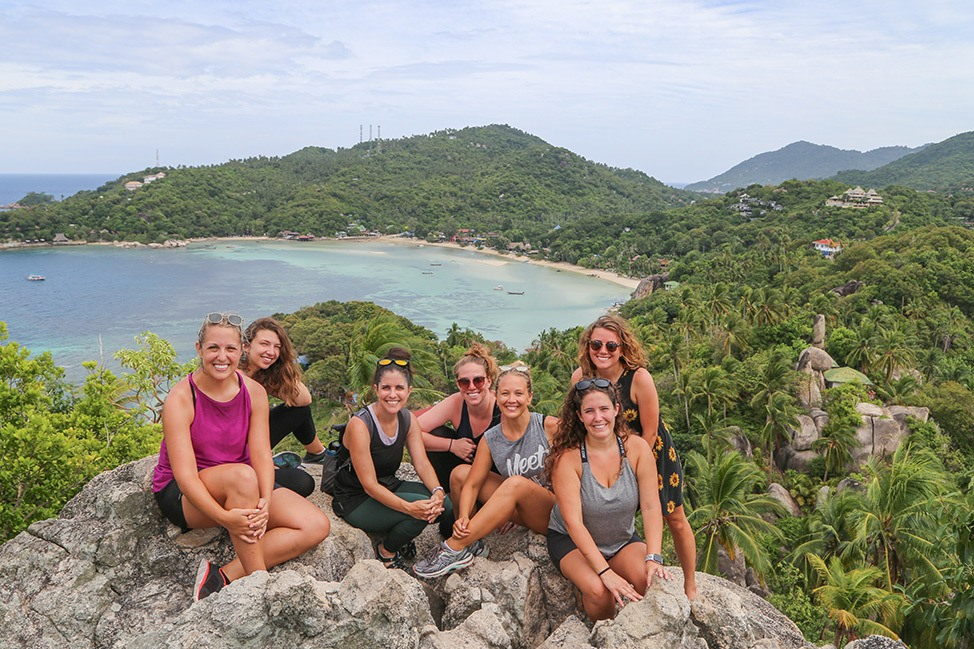 Visiting John Suwan Viewpoint, Wander Women Retreats, Thailand