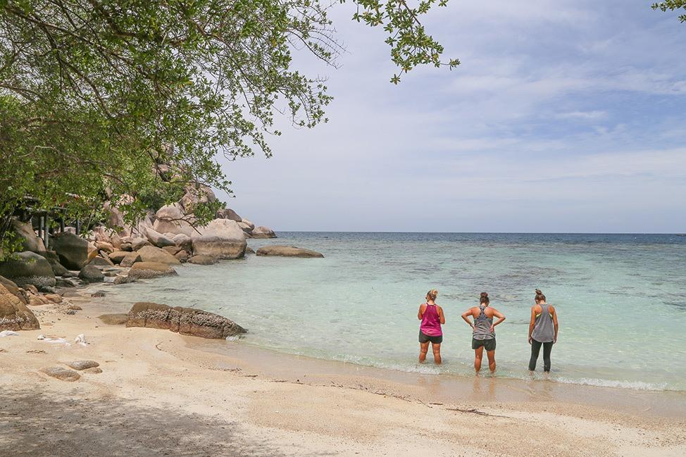 Beach day, Wander Women Retreats, Thailand
