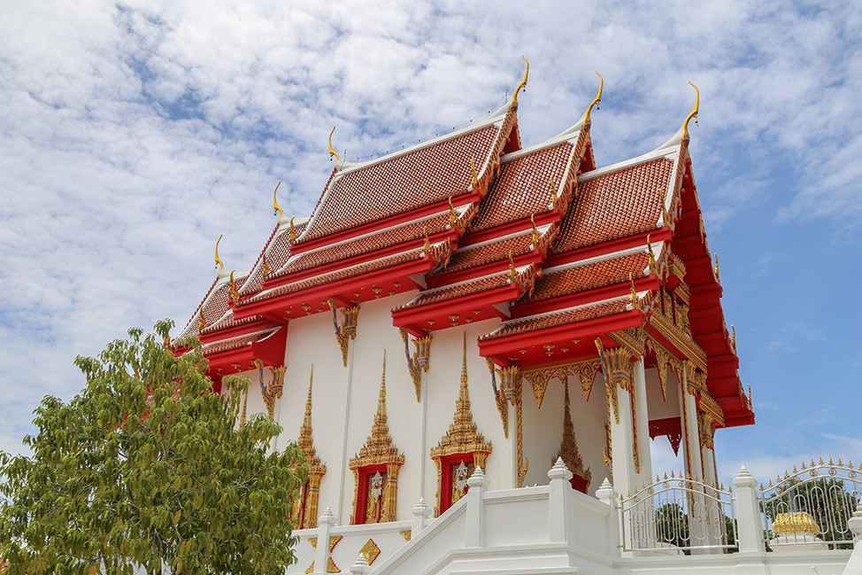 Thai Temple on Koh Tao, Wander Women Retreats, Thailand