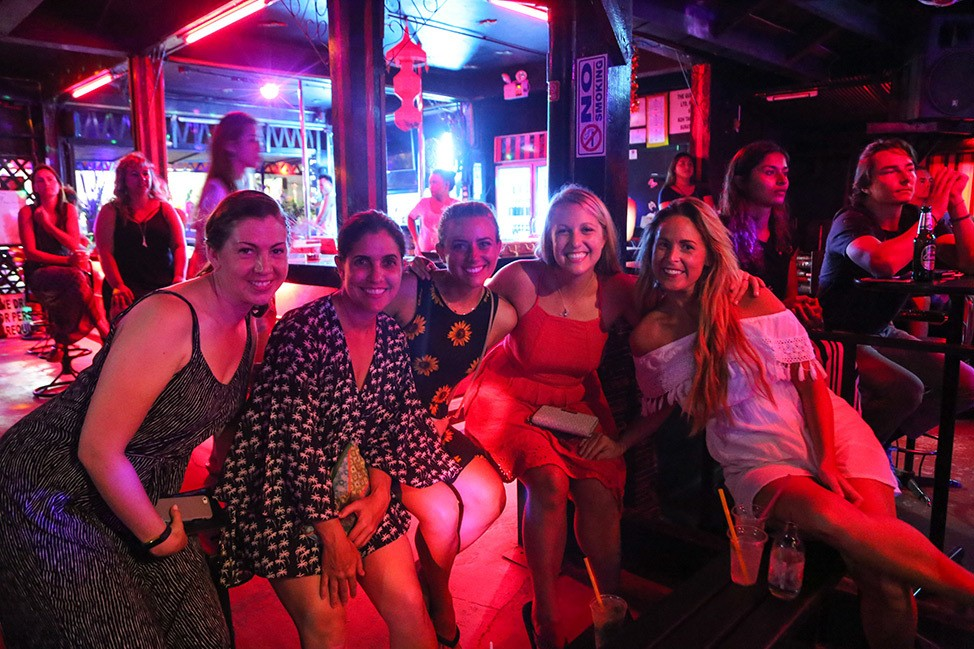 Ladyboy Show at Wander Women Retreats, Koh Tao, Thailand
