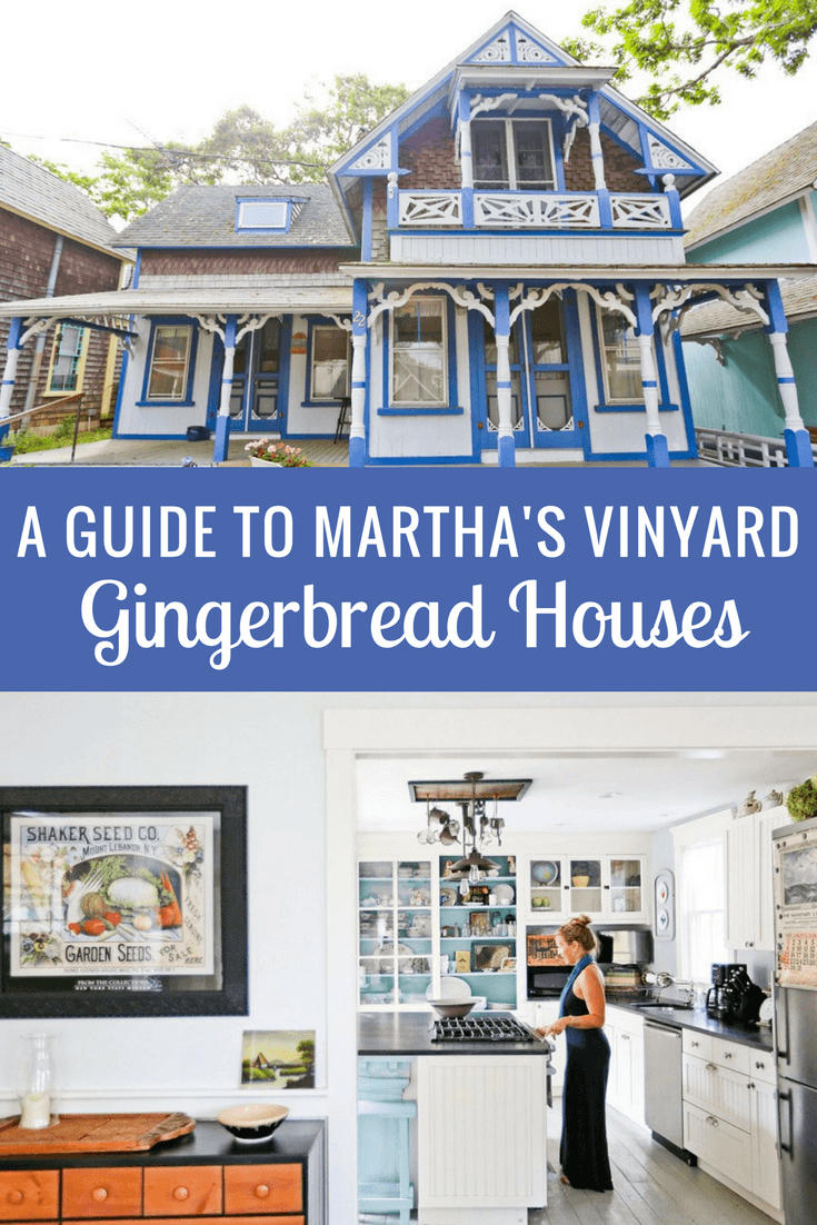 A Guide to Martha's Vinyard Gingerbread Houses
